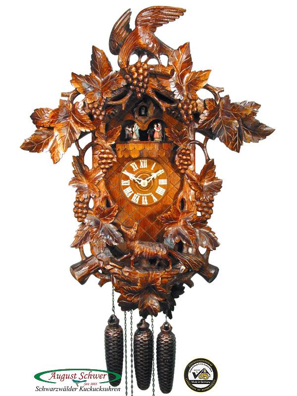 Black Forest cuckoo clocks Schwarzwald Schwarzwälder Kuckuckuhren Kuckucksuhr